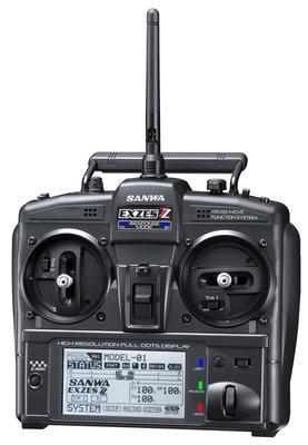 SANWA EXZES ZZ Radio Set with RX472 - 101A32071A
