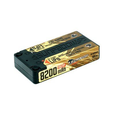 Sunpadow 3,7V 1S2P 8200mAh 100C/50C Shorty LiPo Battery Top Series Ultra LCG - S682068