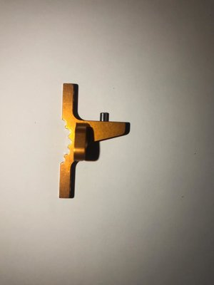 XRAY T4'19 ALU UPPER CLAMP WITH 2 ADJ. ROLL-CENTERS (L+R) - ORANGE - 302036-O