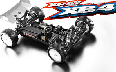 XRAY XB4 2019 - 4WD 1/10 ELECTRIC OFF-ROAD CAR - 360006