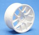 RIDE 10 Spoke Nylon Wheel White - 123
