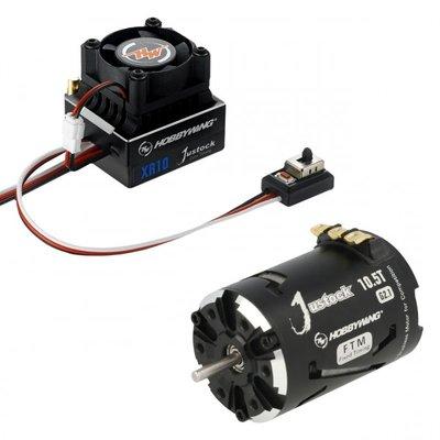 Hobbywing Combo XR10 JS2 Black G2.1, 3800kv, 10.5T - 38020239