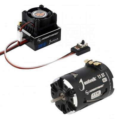Hobbywing Combo XR10 JS5 Black G2.1, 2300kv, 17.5T - 38020241
