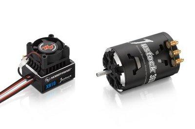 Hobbywing Combo XR10 JS4 Black G2, 2800kv, 13.5T - 38020401