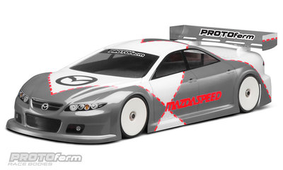 PROTOFORM Mazda Speed 6 Light Weight Clear Body for 190mm - 1487-11