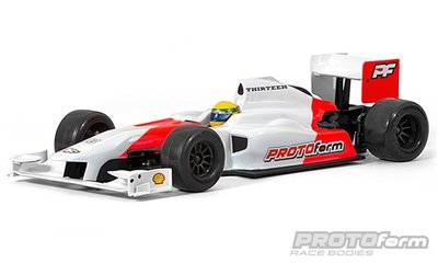 PROTOFORM F1-Thirteen Clear Body for F1 - 1537-30