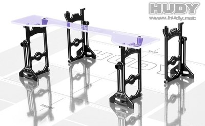 HUDY Universal Exclusive Set-Up System For 1/10 Off-Road Cars 4WD - 108905