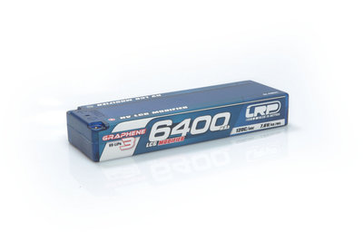 LRP HV LCG Modified GRAPHENE-3 6400mAh Hardcase Akku - 7.6V LiPo - 120C/60C - 430271
