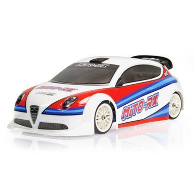 Mon-Tech Mito-RX FWD/Rally body shell - 019-007