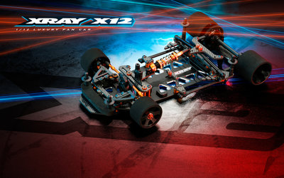 XRAY X12'20 US SPECS - 1/12 PAN CAR - 370012