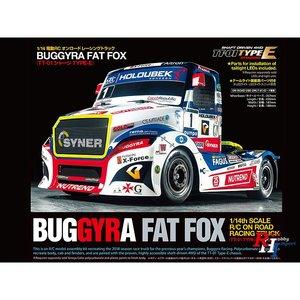 TAMIYA 1/14 R/C Buggyra Racing Fat Fox (TT-01 Type-E) - 58661 - met Tamiya Certificaat