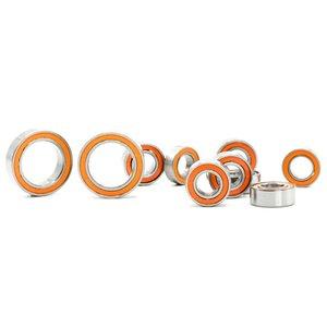 MonacoRC Ball Bearings orange kit for T4'19 (14pcs) - MC-B001