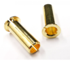 PERFTEC Adapter Bullet 4.0-5.0 Gold-Plated (2) - TPa45-02