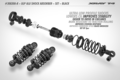 XRAY ULP ALU SHOCK ABSORBER-SET - BLACK (2) - 308308-K