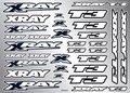 Xray T3 Sticker For Body - White, X397325 - 397325