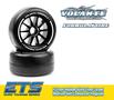 Volante F1 Front Rubber Slick Tires Medium Soft Compound Preglued (Carpet) - VT-VF1-FMS