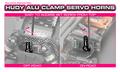 HUDY ALU CLAMP SERVO HORN - FUTABA - 25T - 293409