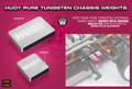 HUDY PURE TUNGSTEN WEIGHT 10g - 293082
